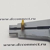 Стойка 10 mm М2, латунь, шестигранная