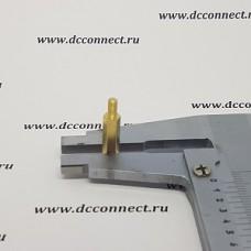 Стойка SN 12 mm резьба М3 латунь, шестигранная