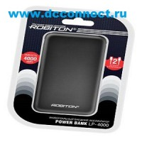 ROBITON POWER BANK LP-4000 L Micro-USB - Lightning BL1