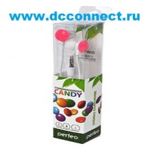 PERFEO CANDY PF-CAN-PNK розовые BL1
